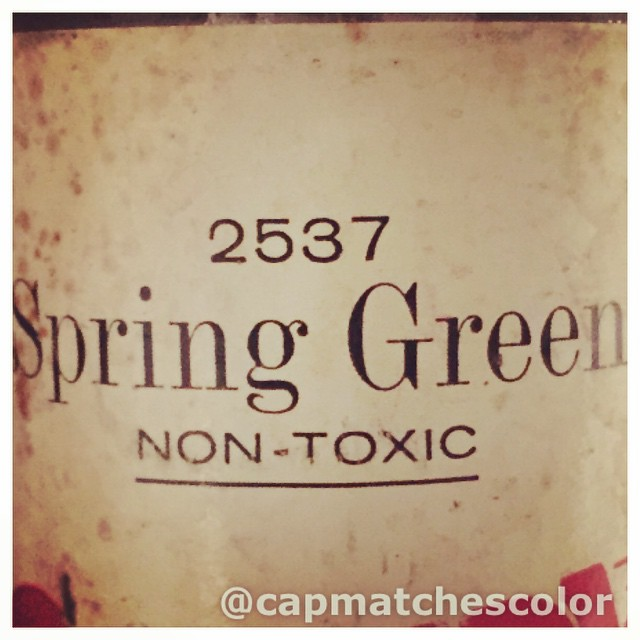 Enjoying the nice change in weather! #springgreen #rustoleum #paperlabel Read…