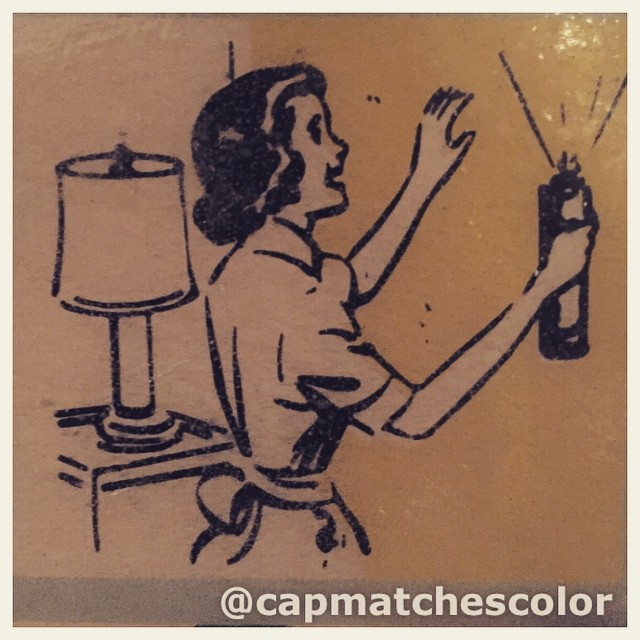#wcw Don't ask us what she is spraying. #plastikote #varsity…